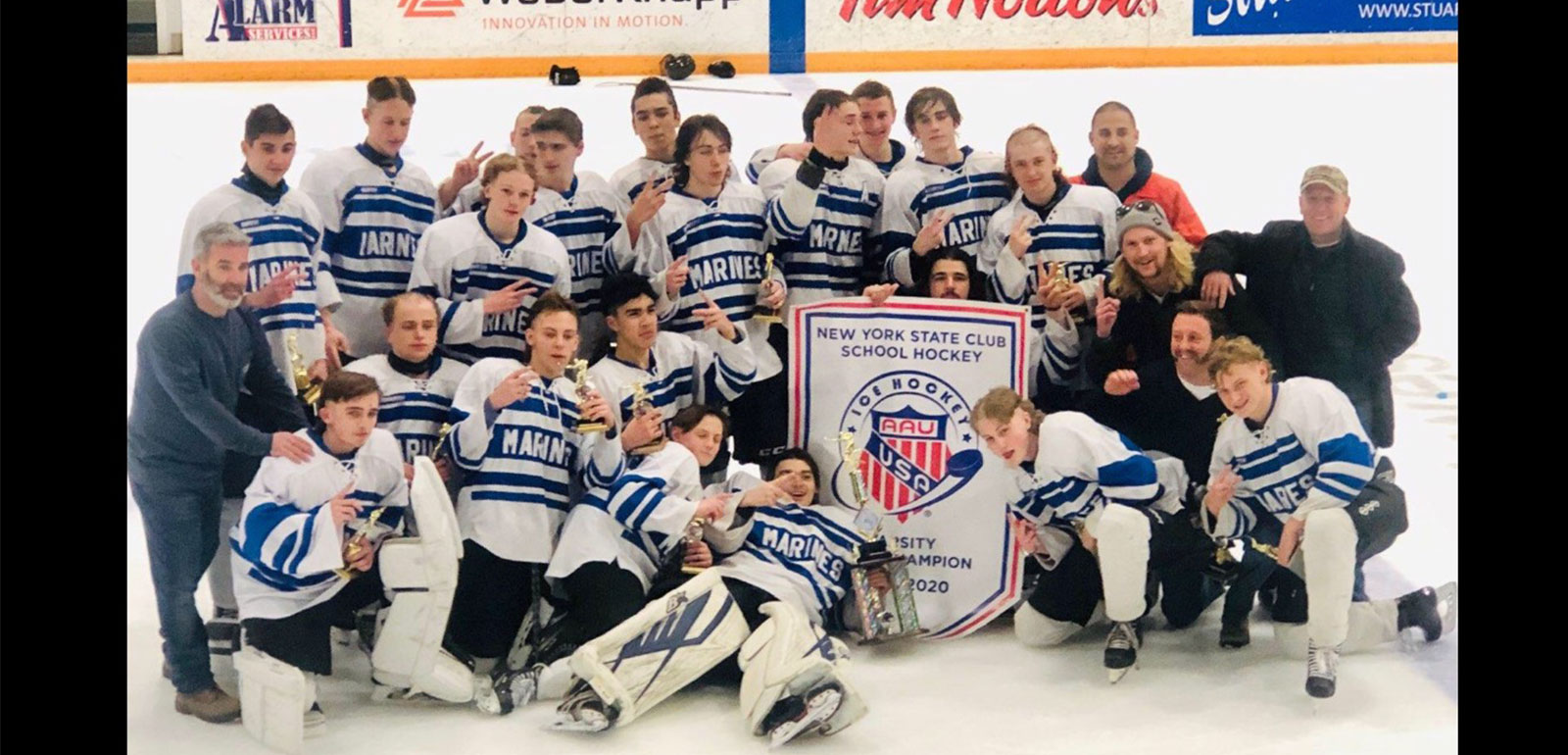 LB Hockey Takes Back-to-Back State Titles