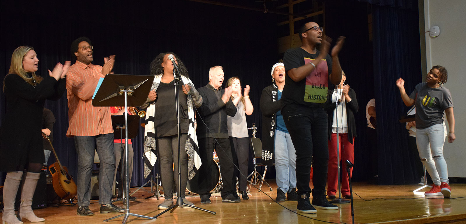 LBMS Honors Black History Through Music photo