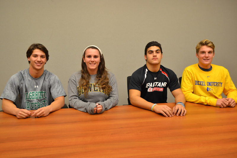HS Seniors Sign Letters of Intent