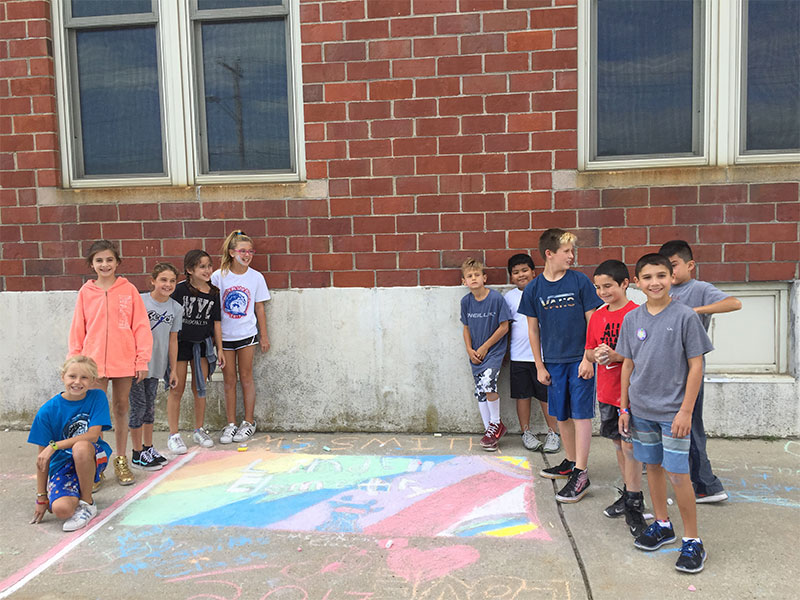 Lindell Students Create Art from the Heart