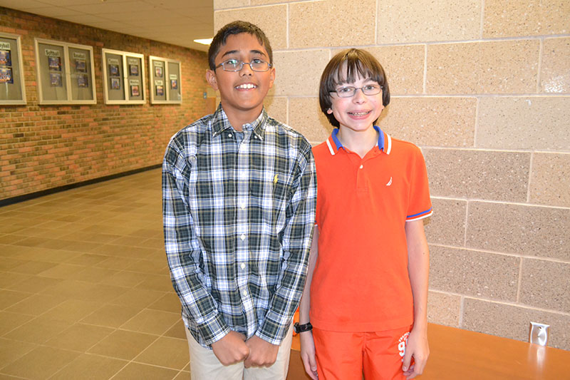 Middle School's Math Scholars Solve Problems, Creatively