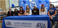 Seven Long Beach Athletes Sign Letters of Intent