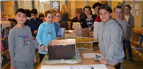 Ancient Egypt comes to life in LBMS library photo