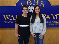 Marina Meyer and Jesse Scott Named National Merit Commended Students